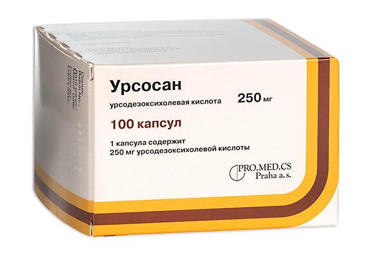 Урсосан 250мг капс. №100 по цене от 1429.00 руб в Екатеринбурге, купить Урсосан 250мг капс. №100 (Зио-здоровье зао) в аптеке Фармленд, инструкция по применению, отзывы